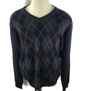 Brooks Brothers Mens Sweater Extra Fine Wool Large